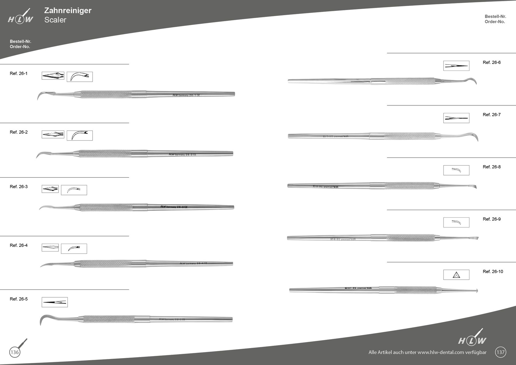 Groupe 26 - HLW Dental-Instruments Germany